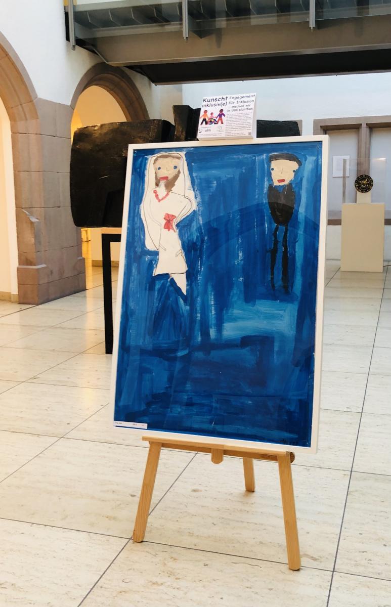 """Bild """"Trau Dich"""" vor dem Standesamt im Ulmer Rathaus"""